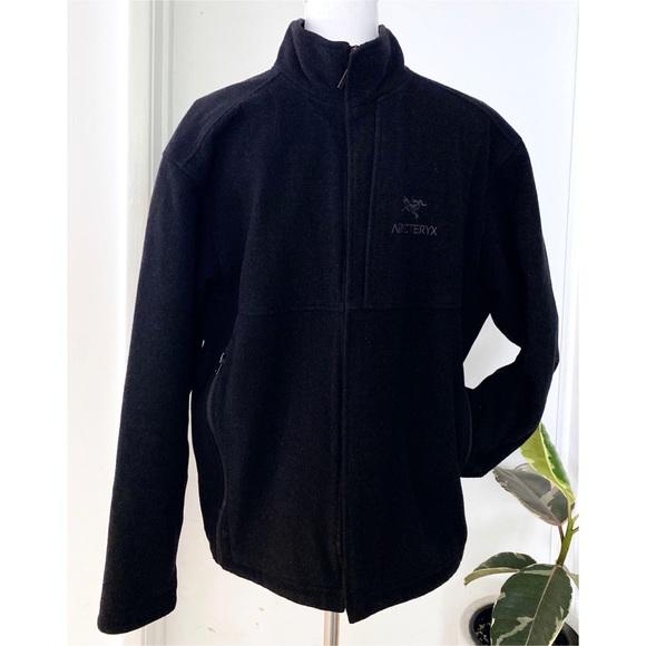 Arc'teryx Other - ARC'TERYX Dark Gray Full Zip Performance Jacket L